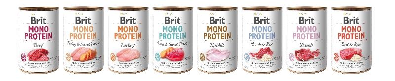 Chutné konzervy Brit plné masa a vnitřností