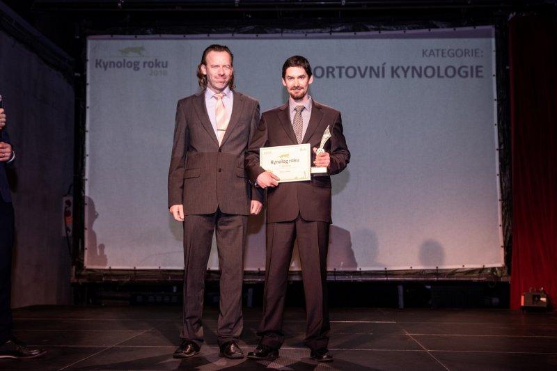 Titul Kynolog roku 2018 vyhrál Václav Ouška