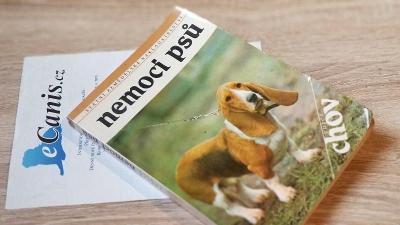 """Báječná kniha s názvem """"Nemoci psů"""""""
