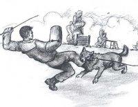 Všichni psi z celé vsi - Černý