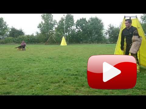 Natálie Malá (10 let) se psem Goody Krasnoočko obrana dle ZM