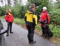 Český pohár záchranných psů vterénním vyhledávání ZTV 3