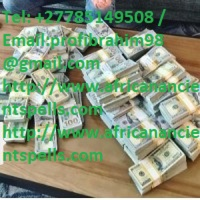 Money Spells That Work 100% Guarantee   Occult Money Rituals to Get Rich Call +27785149508