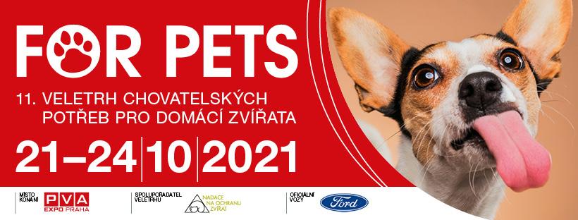 Veletrh FOR PETS přinese to nejlepší ze světa mazlíčků