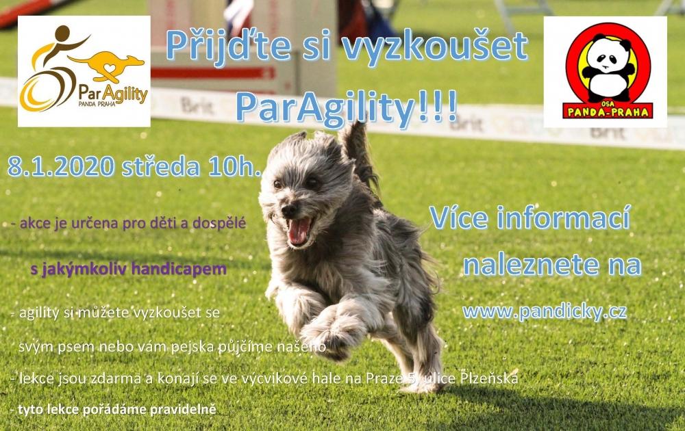 ParAgility na Pandičkách!