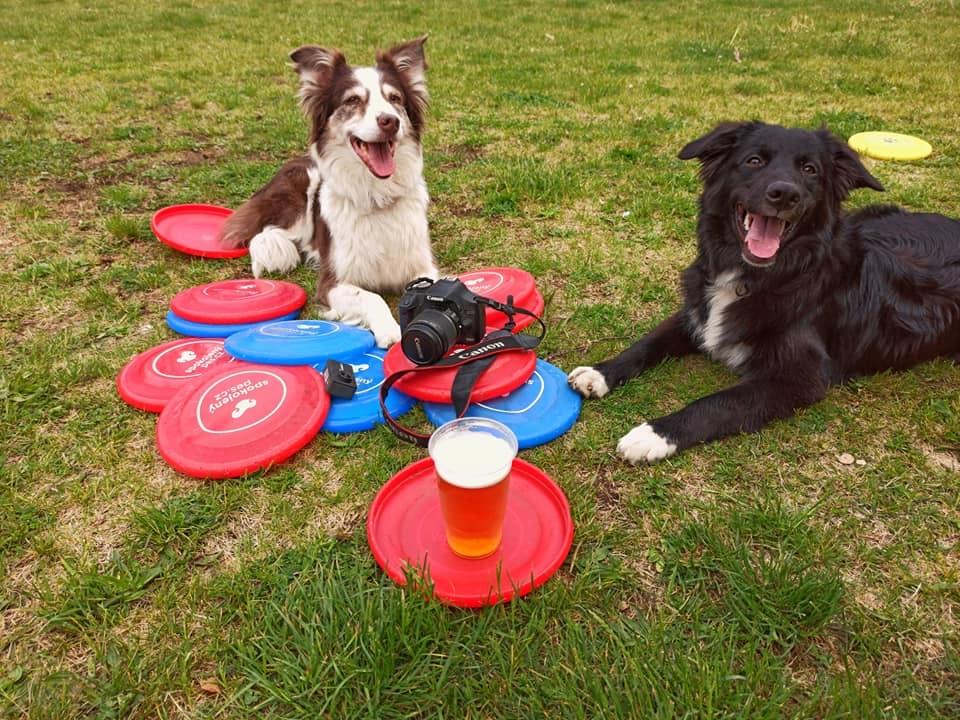 Dogfrisbee je pro mě tím pravým sportem!