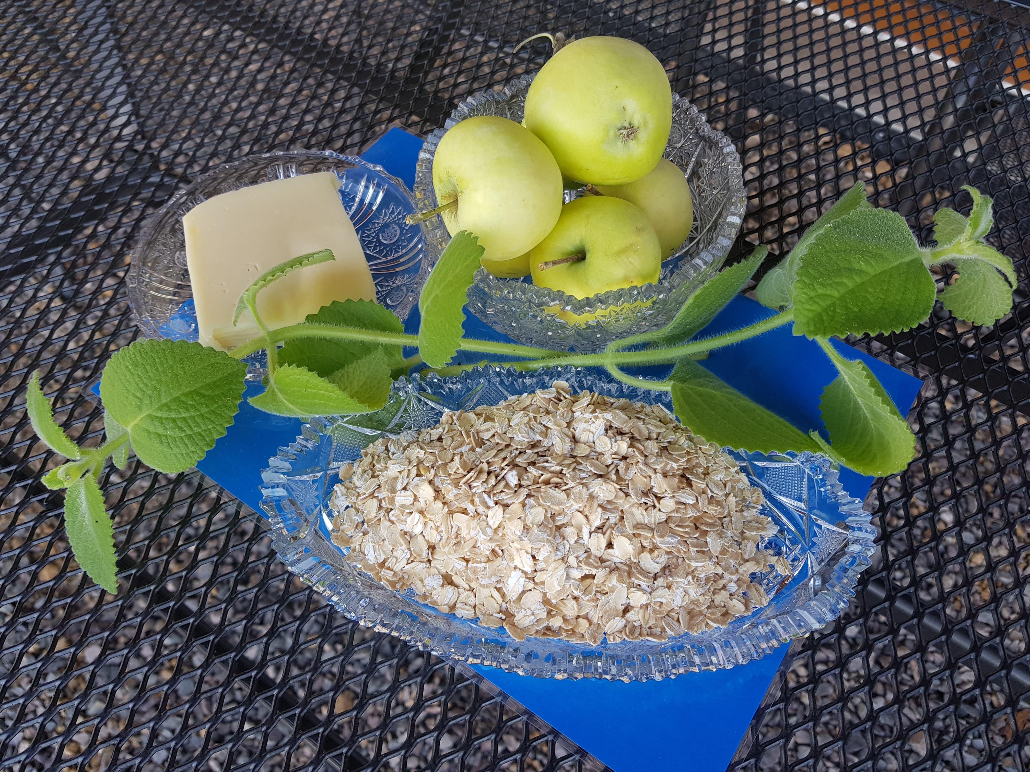 vločky s jablky